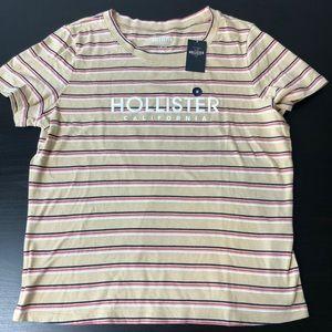 Hollister Striped Slim/Short Tee (NWT)